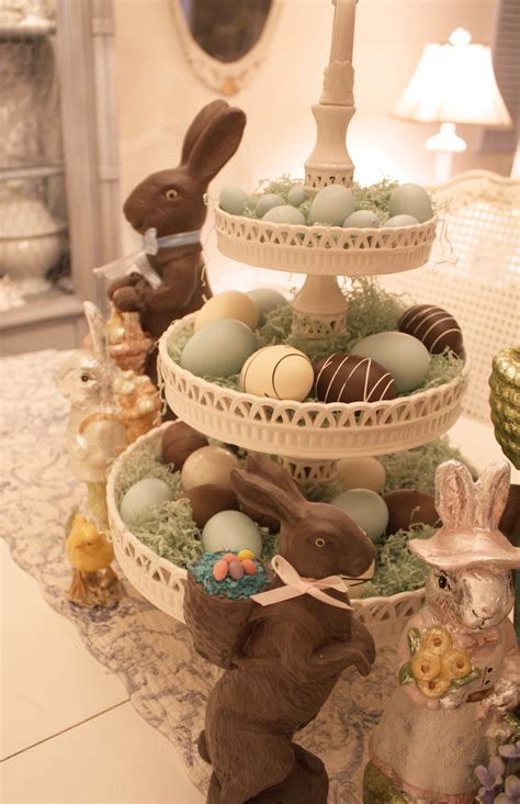 easter decorations for the home my romantic home bingo and easter decor