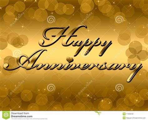 Happy Anniversary Stock Image   Image: 17946181