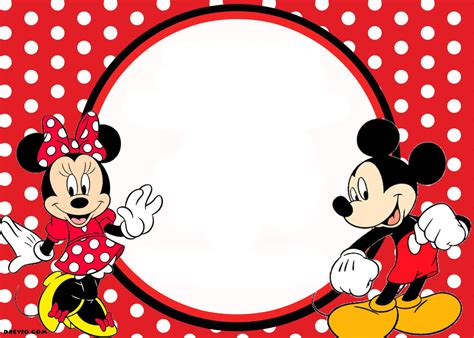 pageplus minimouse greeting card template mickey and minnie invitation oxyline 66aa894fbe37