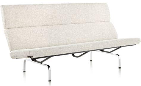 eames sofa compact eames 174 sofa compact hivemodern com