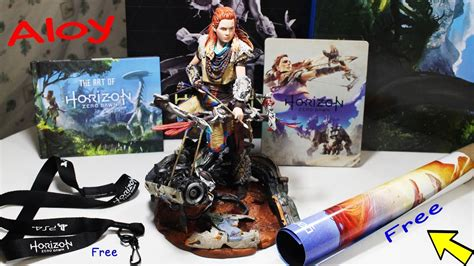 horizon zero dawn collectors 3869930810 horizon zero dawn collector s edition unboxing ps4 hd youtube