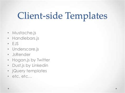 underscore js template javascript template engine getting started