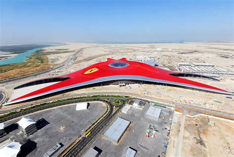 ferrari world travel trip journey ferrari world theme park in abu dubai