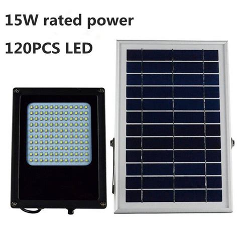 outdoor solar 15 led l solar powered panel 15w 120 led solar light 3528 smd solar powered panel