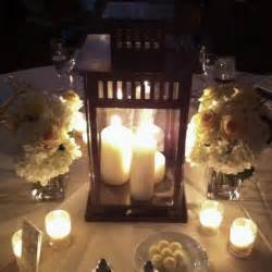 lantern table centerpiece wedding inspiration