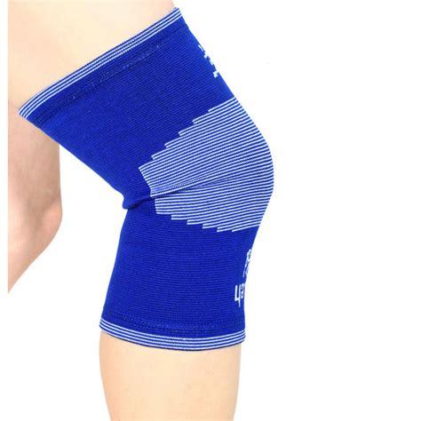 sport warm knee pads pelindung lutut blue jakartanotebook