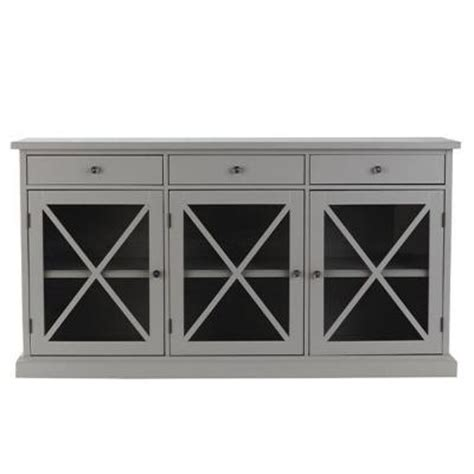 Home Decorators Buffet by Home Decorators Collection Hton 62 In W 3 Door Wood