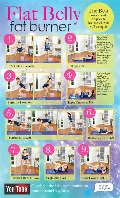 the best flat belly burner workout