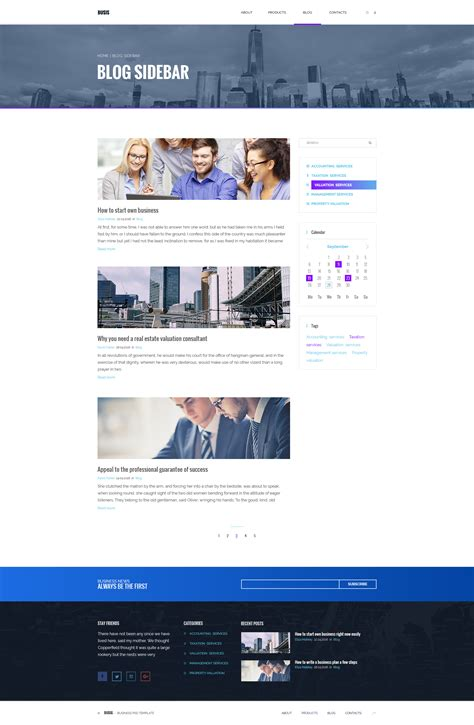 Busis Clean Multipurpose Business Corporate busis clean multipurpose business corporate psd template by torbara