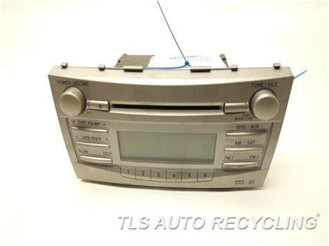 Toyota Camry Radio 2011 Toyota Camry Radio Audio 86120 06480 Used