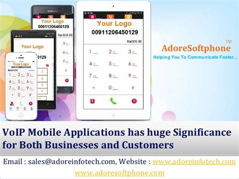 mobile voip website voip mobile applications has significance for both
