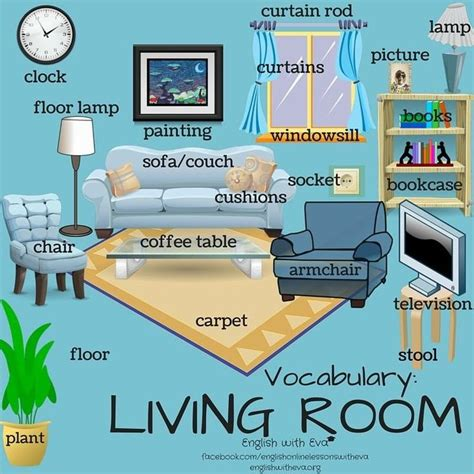 bedroom english vocabulary 17 best ideas about english living rooms on pinterest