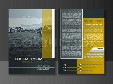 layout design com modern style brochure and flyer design templates creative