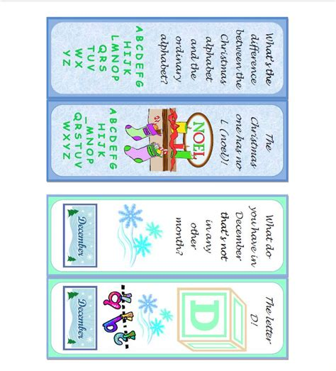 printable seasonal bookmarks seasonal printable reading promotion bookmarks generously