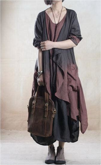 J12087 3 In 1 Set Dress linen dress and jacket set two in black and brown