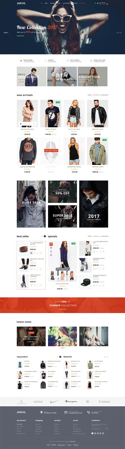 themeforest jarvis jarvis multipurpose ecommerce psd template by