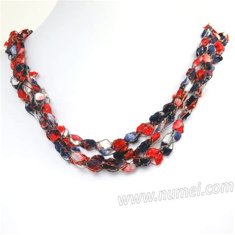 Handmade Ribbon - handmade ribbon necklace et9200