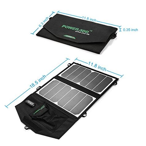 best solar panel deals best deals high efficiency version poweradd 14w solar charger portable usb solar panel