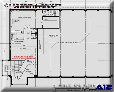 station designs floor plans ambulance station design second floor plan