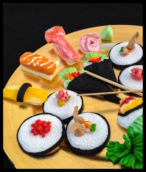 sushi cookie platter cakecentral