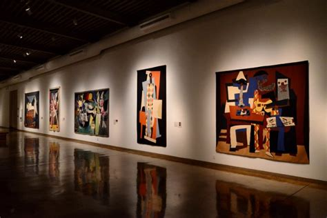 new picasso exhibition looms large at sama