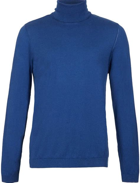 mens light blue turtleneck sweater topman blue turtle neck sweater where to buy how to wear
