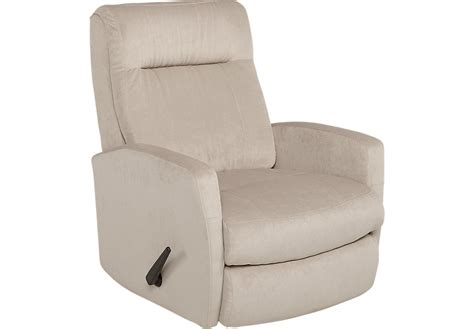 rooms to go recliner claudio beige swivel rocker recliner recliners beige