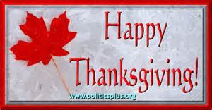 Date Of Canadian Thanksgiving Happy Thanksgiving Politics Plus
