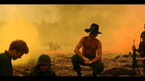 of the morning robert duvall i the smell of napalm in the morning