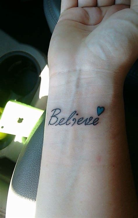 small believe tattoos 1000 ideas about believe tattoos on tattoos