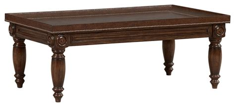 mandara cocktail table traditional coffee tables