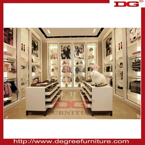 dg high quality clothing retail store furniture interior
