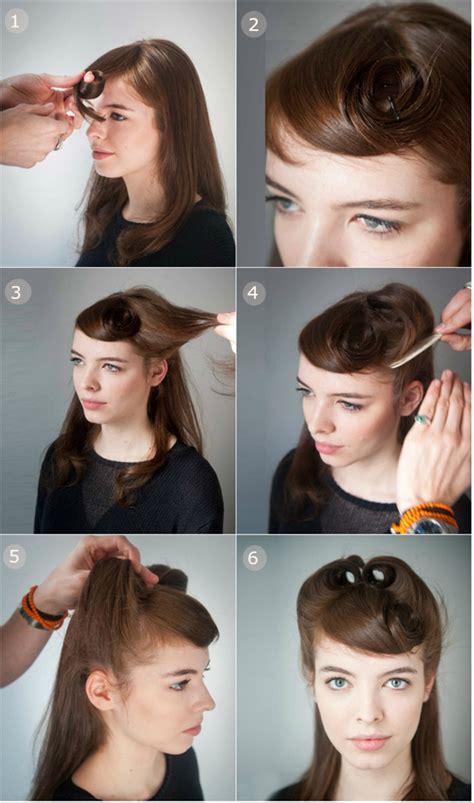 half up half down quiff hairstyles 13 fantastic hairstyle tutorials for ladies pretty designs