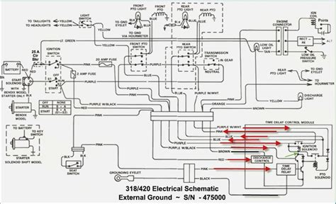 deere 318 wiring diagram wiring diagrams wiring diagram