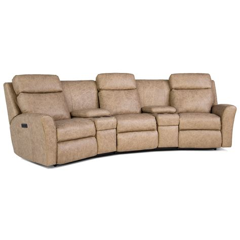 smith brothers conversation sofa smith brothers 418 casual motorized reclining conversation