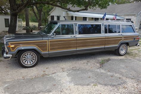jeep grand limousine 80s capsule grand wagoneer limo jk forum