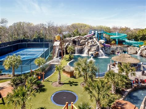 mansion backyard 32m texas mansion has waterpark in ground troline in