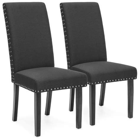 bcp set   studded parsons dining chairs ebay