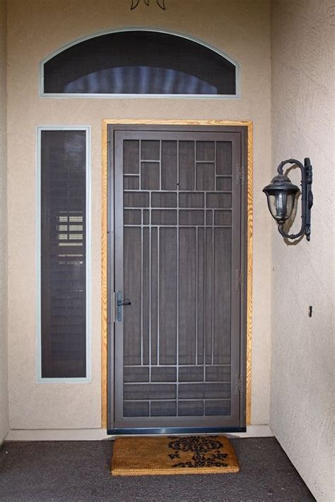 Security Gates For Front Doors Penasco Impression Security Doors Houses Sheds Doors Security Door
