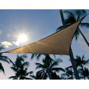 Triangle Awning Canopies by Shelterlogic Sun Shade Sail Canopy Triangle In Canopies