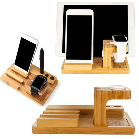 I Phone 4 5 Kayu Senokelingi By Madera 3 in 1 wood bamboo stand holder for tablet smart phone