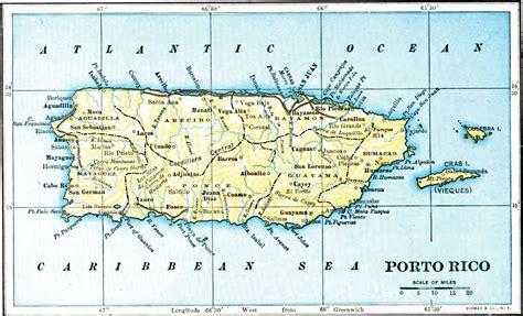 map of the united states and puerto rico porto rico map 1903 la chuleta congel 193