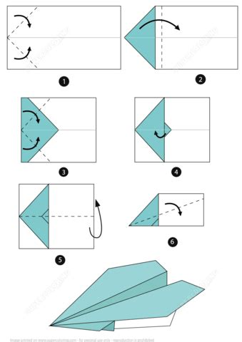 printable paper airplane folding directions origami airplane instructions free printable papercraft