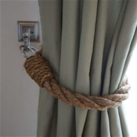 rope curtain tie backs diy 78 curtain tie backs to take inspiration from patterns hub