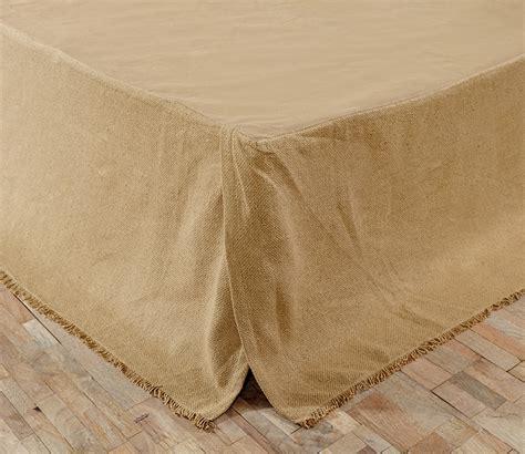 dust ruffles for queen beds burlap natural fringed queen bed skirt dust ruffle 60 quot x