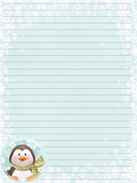 carta da lettere carta da lettera dell inverno
