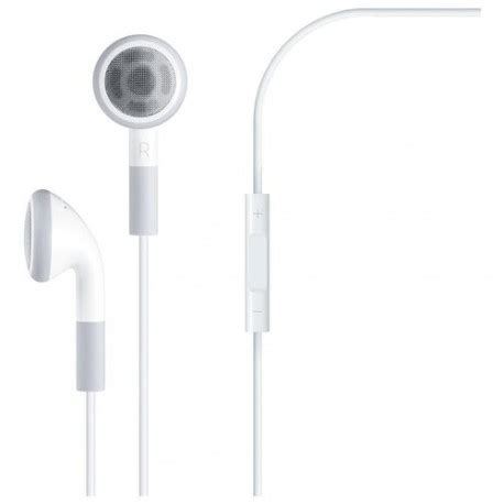 Sale Apple Original Headset Earphone With Mic And Volume apple mb770 headphone headset original mb770g