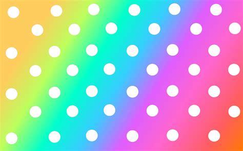 polka dots background rainbow polka dot background by sweetpurple08 on
