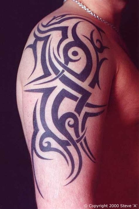male upper arm tattoo designs arm tattoos for
