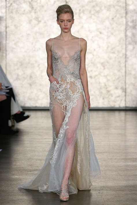 Clearly Fashion See Through Trends Couture In The City Fashion by The Dress Trend Takes Hold At Bridal Fashion Week